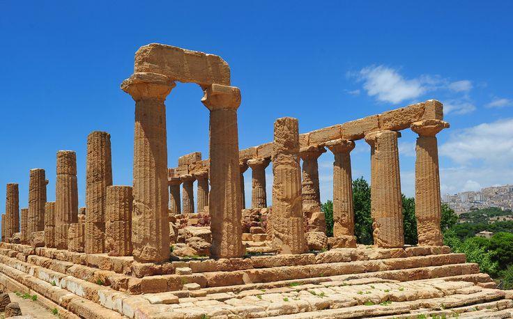 Tempio di Giunone, Valle dei Templi, Agrigento, Sicily, luglio 2014 008