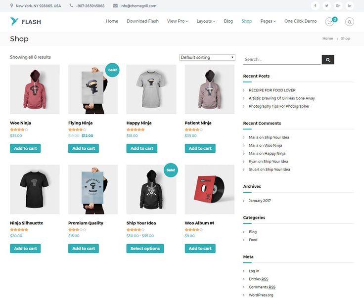 Mejores 20 imágenes de Woo Commerce Themes And Templates en ...