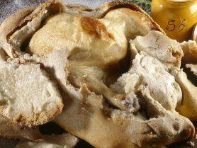 Sókéregben sült csirke recept