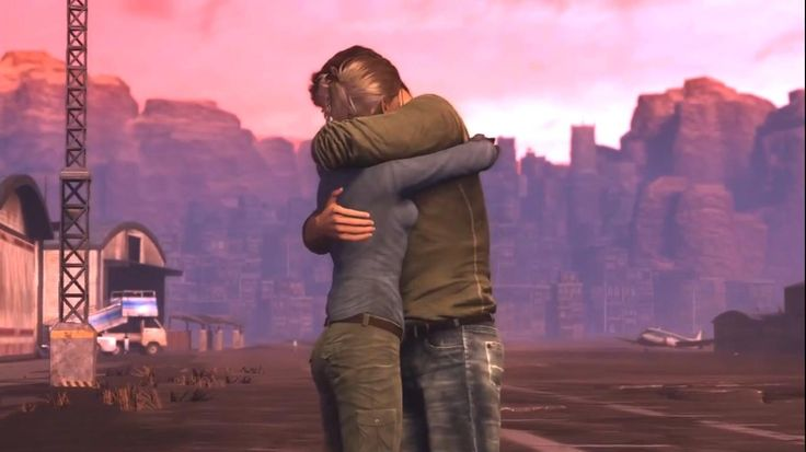 """Uncharted 3 - """"I'm really sorry about your ring."""" """"It's alright. I swapped it for something better."""""""
