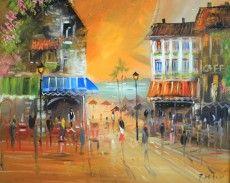 Parisian Fantasy - Pavel Mitkov painting