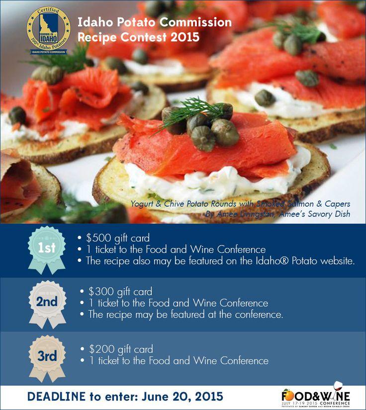 Idaho Potato Commission Recipe Contest #FWCon