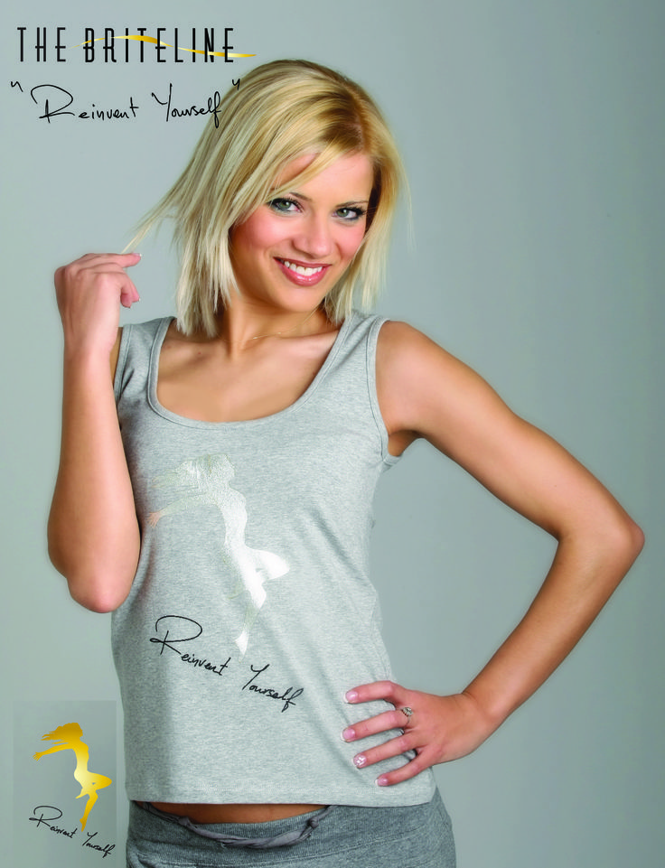 """""""REINVENT YOURSELF"""" Tank top."""