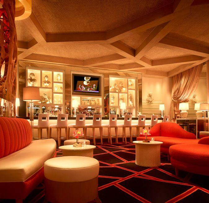 Contemporary American Restaurant Interior Design Of LakeSide Las Vegas Soft Light