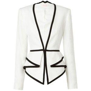 Nappalra, elegáns, blézer, Sass & Bide Two Dimensions Tailored Jacket With Peplum Detail