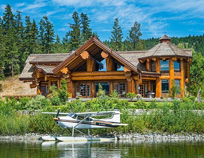 Дом из массивных кедровых стволов | Деревянные дома ручной рубки | Журнал «Деревянные дома»