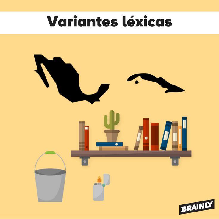 Variantes léxicas entre México y Cuba