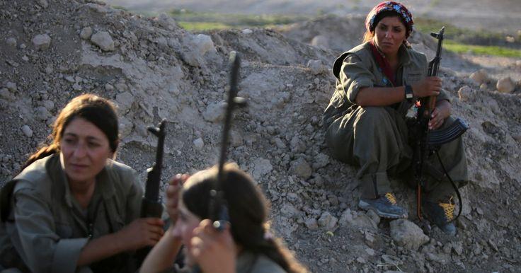 Kvinder i krig.