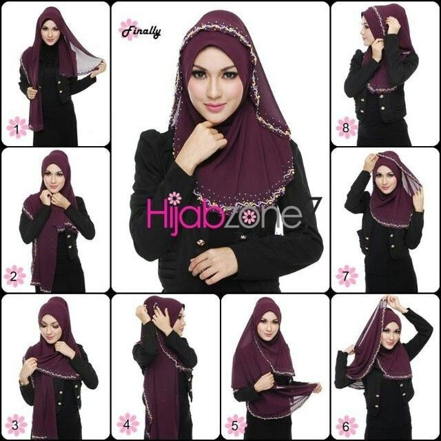 Hijab Tutorial on We Heart It