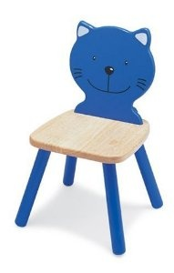 Pintoy Wooden Cat Chair by Pintoy Furniture - Pintoy Toys £28.54