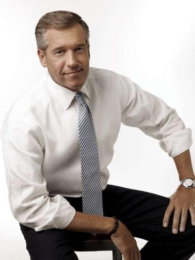 NBC News anchor Brian Williams - HE IS SO FUNNY TO!
