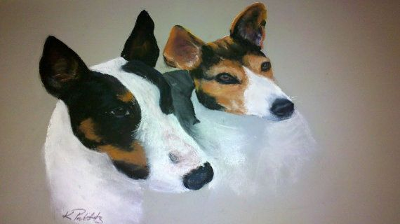 Pastel Portraits of Pets Animals and by KimProbittsCreations