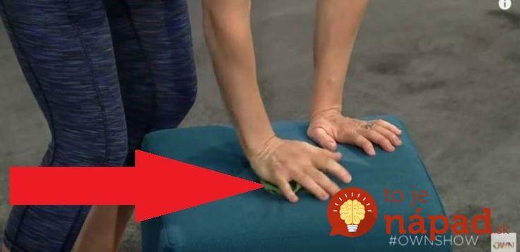Ak trpíte bolesťou ramena a krku, vyskúšajte tento nezvyčajný trik, ktorý môže priniesť úľavu už o neuveriteľné 2 minúty.
