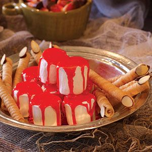 Quick and Easy Halloween Treats  | Vampire Teeth | MyRecipes.com