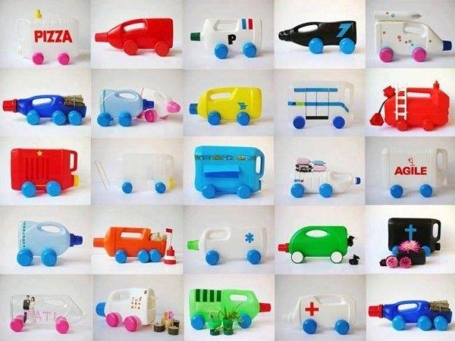 Φτιάχνουμε φορτηγά με ανακυκλώσιμα υλικά