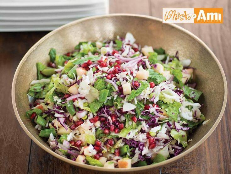 Crunch and Color Salad | Recipes | Kosher.com