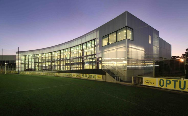 Carlton Football Club -  Football Club exterior from field