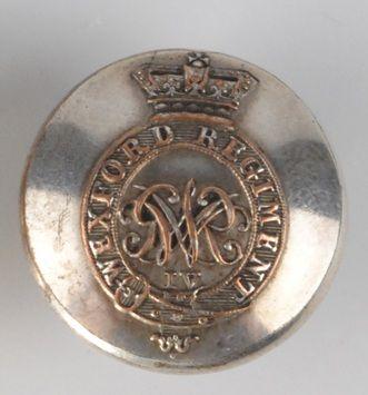Wexford Regiment George IV button by Thomas Sherlock, London