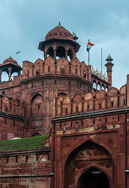 Red Fort Palace in Delhi, India