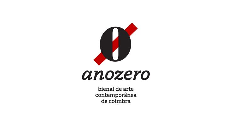 Visual Identity System for Ano Zero: Contemporary Art Biennial of Coimbra.