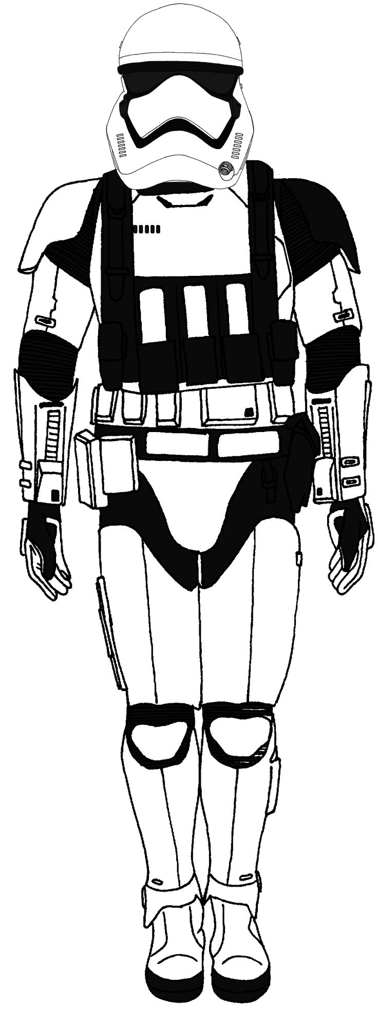 first order stormtrooper coloring pages - photo#27