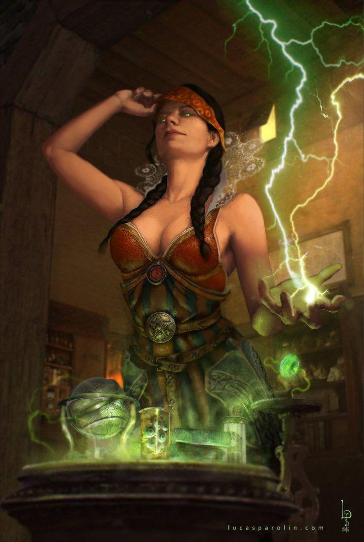 She's back - Philippa Eilhart by LucasParolin on DeviantArt