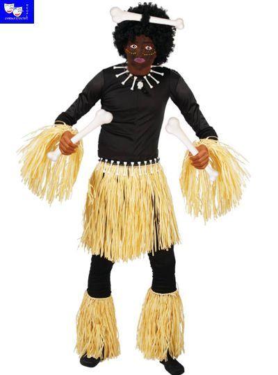Disfraz africano