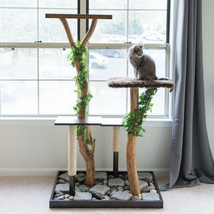 65 besten kratzbaum bilder auf pinterest haustiere die katze und katzenm bel. Black Bedroom Furniture Sets. Home Design Ideas