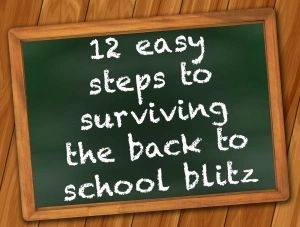 12 easy steps to surviving the back to school blitz – Goldfish and Gin+#back_t… – Back To School