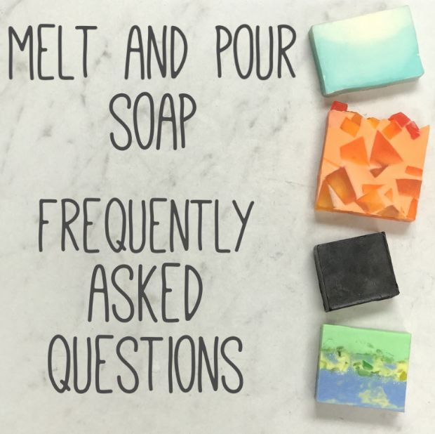 Frequently asked questions about melting and pouring soaps   – Crafts/DIY