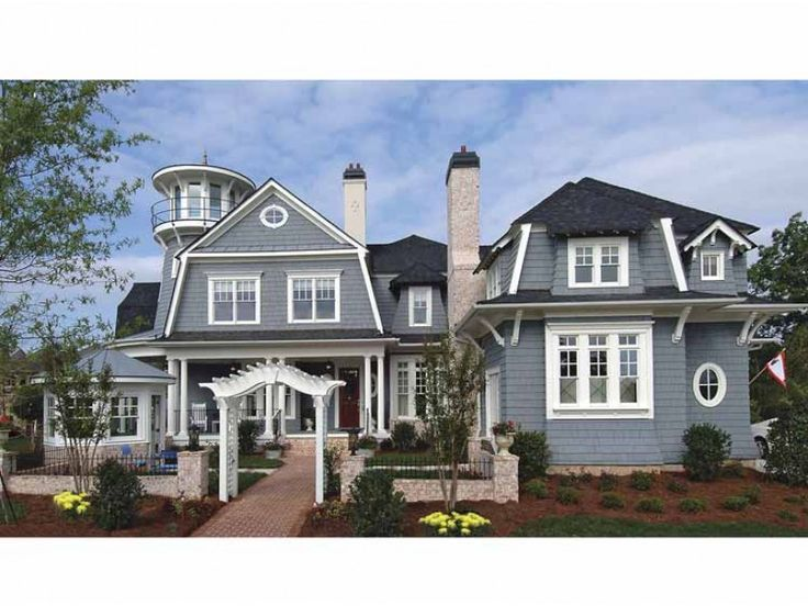 Low Country House Plan with 4364 Square Feet and 5 Bedrooms from Dream Home Source   House Plan Code DHSW68138