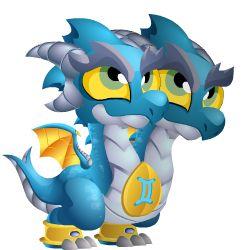 zodiac gemini dragon----dragon city