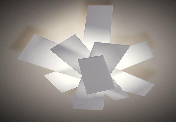 Foscarini Big Bang Parete / Soffitto weiß