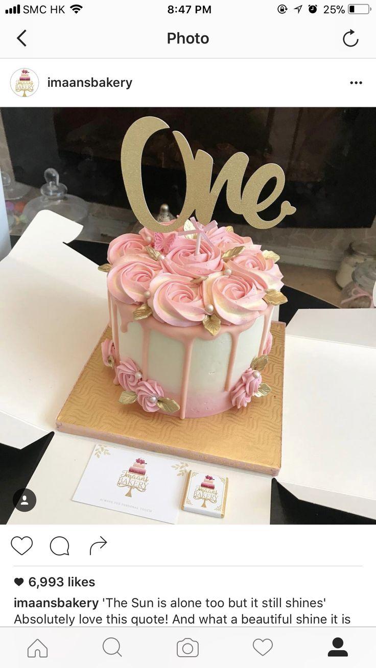 Pink cake~ Ooh la la