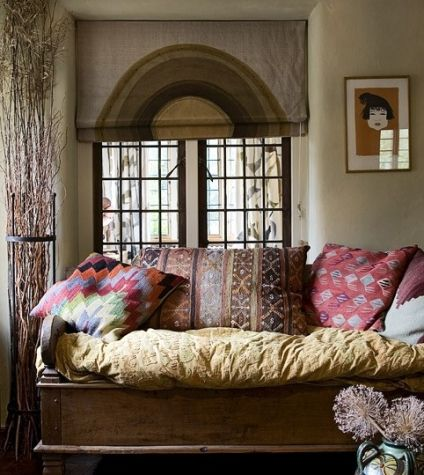 The Relaxing Bohemian Daybed · Bohemian Living RoomsLiving SpacesGypsy ... - 228 Best Design I Dig Living Room Areas Images On Pinterest