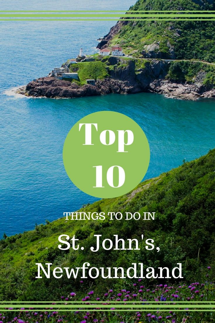 Located on the island of Newfoundland in the Atlantic Ocean, the city of St. John's is known for its vibrant culture and friendly locals.