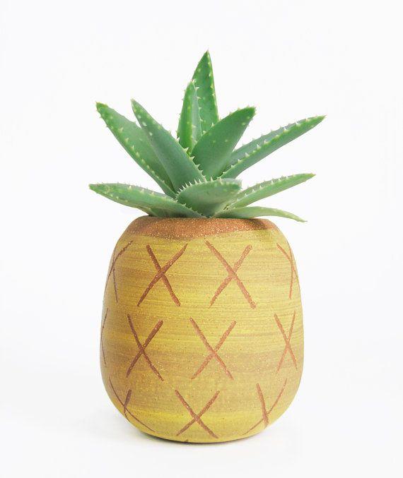 pineapple planter.