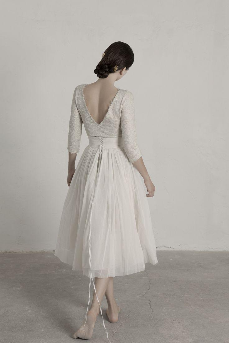 Top Bucol. Falda Peonia. Cortana Bridal Collection.   #WeddingFashion #WeddingDress #Brides