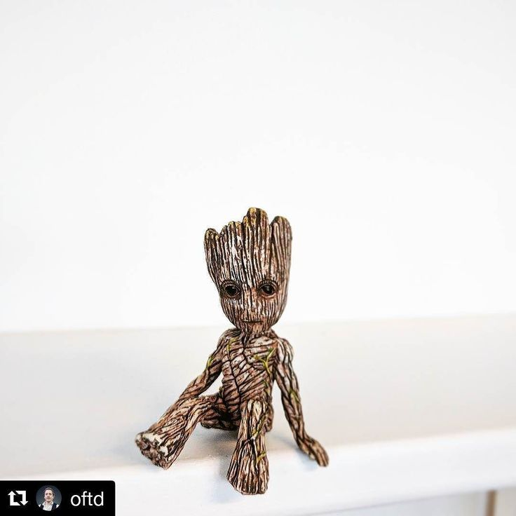 Check out our website to see how you can get your hands on this Baby Groot  model  #Repost @oftd (@get_repost)  Check out the latest addition to the @elixelofficial office. I am hoping he will grow on the team #BabyGroot  #IamGroot #guardiansofthegalaxy #guardiansofthegalaxyvol2 #groot #movie #geek #figure #cute #guardians #film