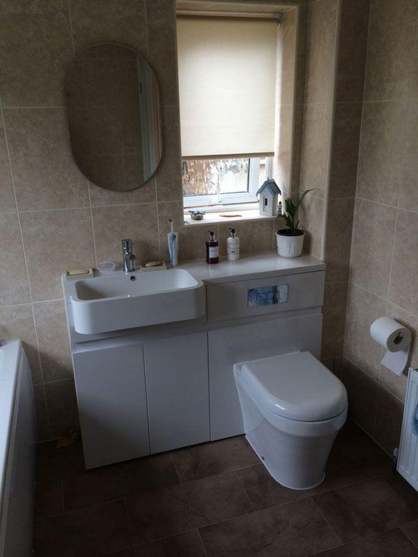 best bathroom vanity unit with basin and toilet. Combined Toilet  Vanity Unit in a bathroom installation by UK Bathroom Guru 12 best Basin Units images on