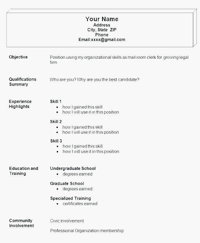Easy And Free Resume Templates Resume Examples Free Printable Resume Templates Free Printable Resume Sample Resume Templates