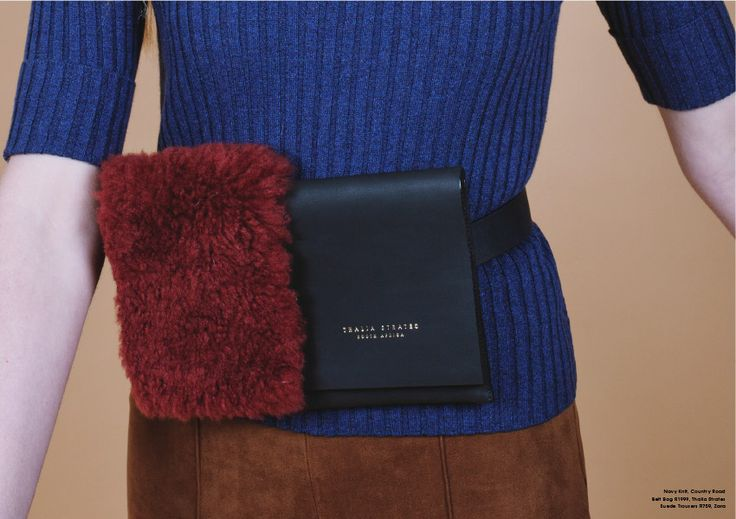 Thalia Strates fanny pack styling A Fashion Friend