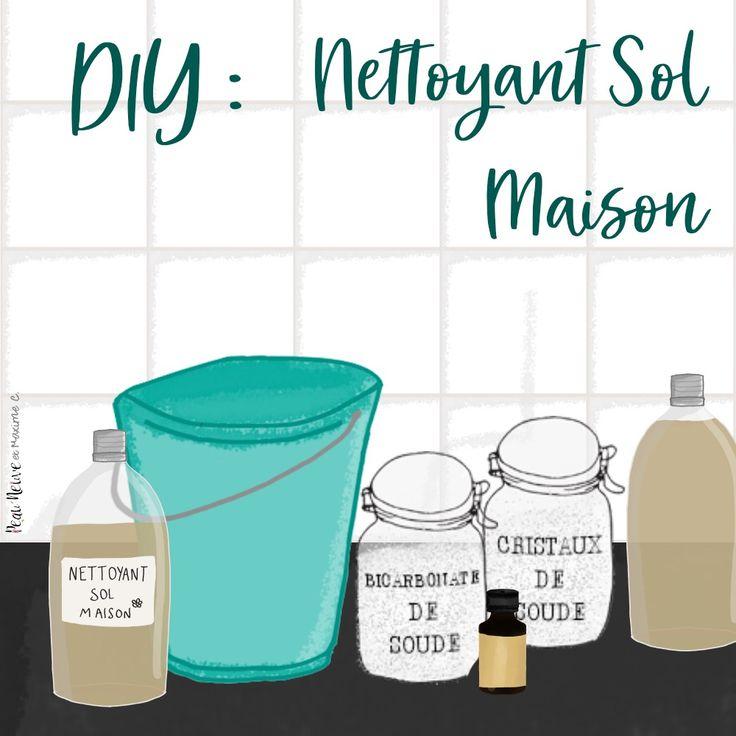 Nettoyant naturel pour le sol nettoyage nettoyant sol maison nettoyer sol et nettoyage sol - Desodorisant naturel pour maison ...