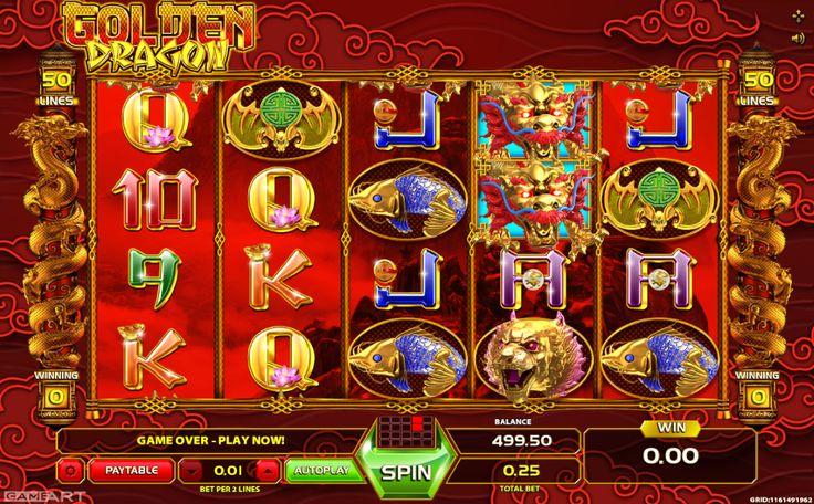 Golden Dragon Game Art - http://slot-machines-gratis.com/slot-machine-golden-dragon-game-art-gratis-online/