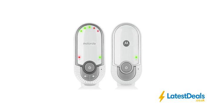 Motorola MBP11 Audio Baby Monitor Save £2 Free C+C, £13.99 at Argos