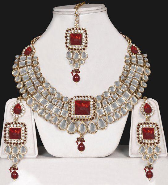 Online shopping kundan jewellery