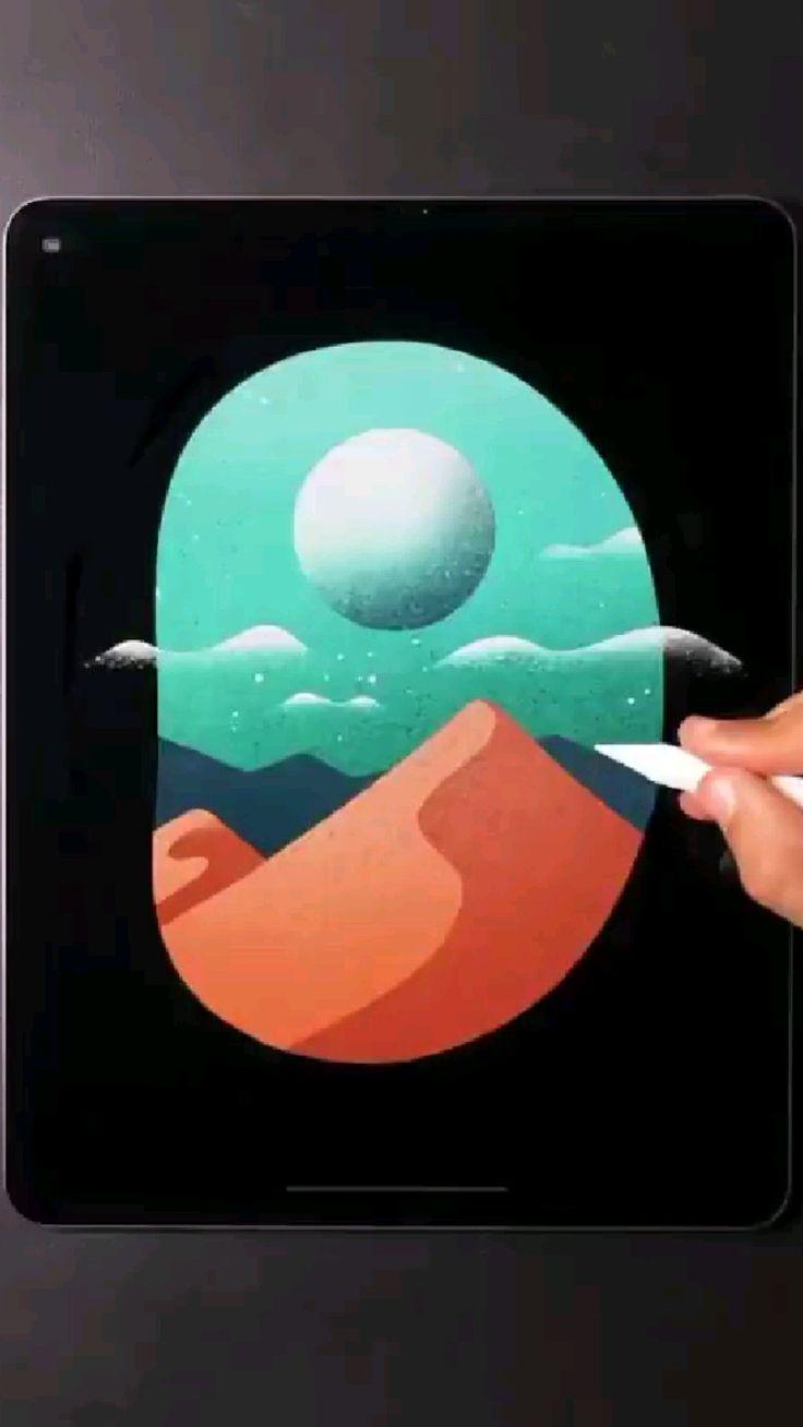 3d Art Drawing, Pencil Art Drawings, Art Drawings Sketches, Graphic Design Tutorials, Art Tutorials, Bakery Logo Design, Fashion Logo Design, Indian Art Paintings, Digital Art Tutorial