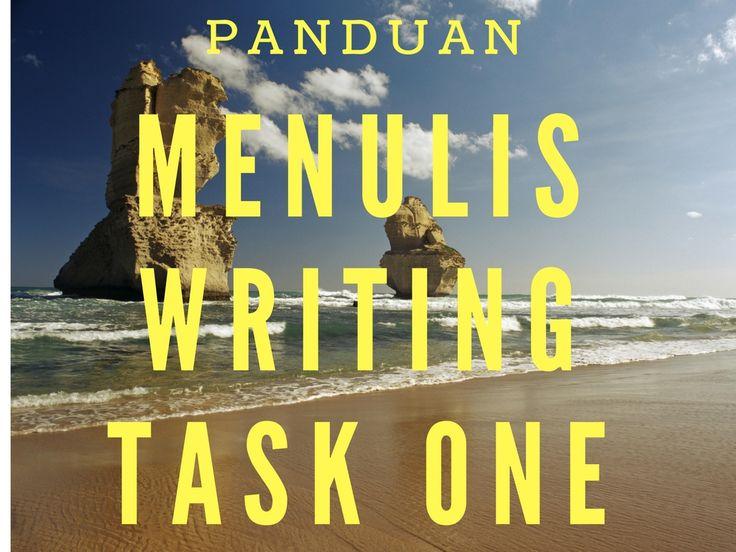 step by step menulis writing task one ielts