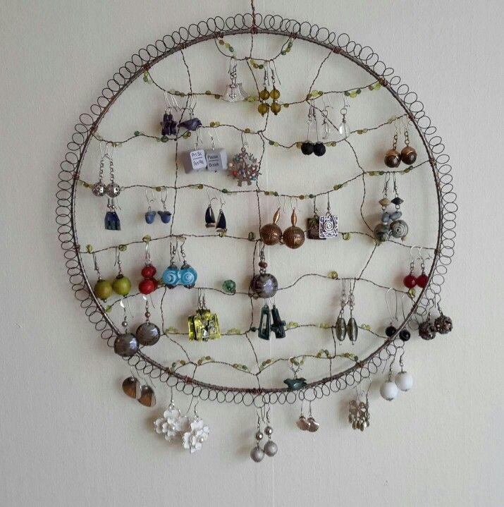A tree for earrings