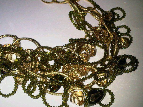 Collar Gala Olivine